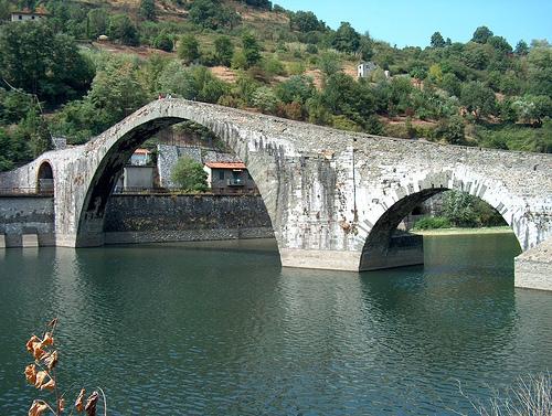 Tuscany, Ponte del Diavolo