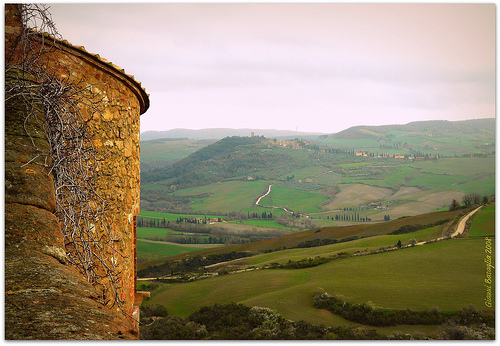 Tuscany - Sunset in Pienza