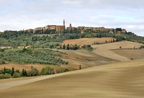 Landscape of Pienza