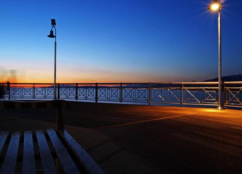 View on Forte dei Marmi beach
