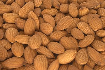 Almonds for Tuscan biscotti