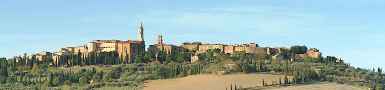 The Top Ten Towns of Tuscany   # 2 Pienza
