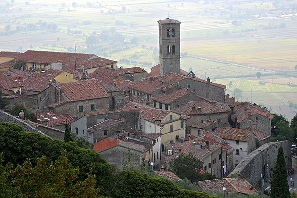 Top Ten Towns of Tuscany   #9 Cortona